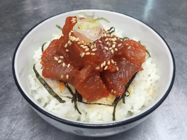 スパイシーツナ丼