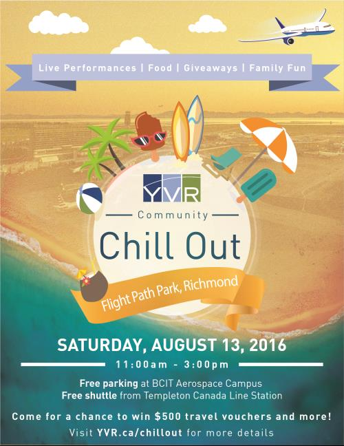 Community Chill Out Poster