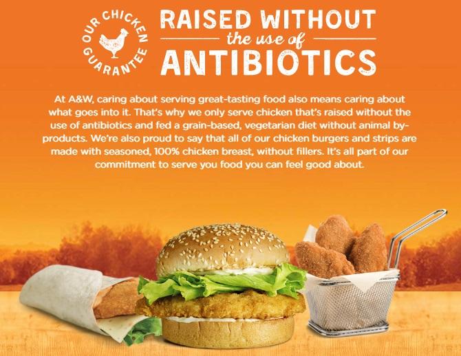 チキンは抗生物質無使用で、穀物を与えて育てたチキンを使用。100%胸肉。